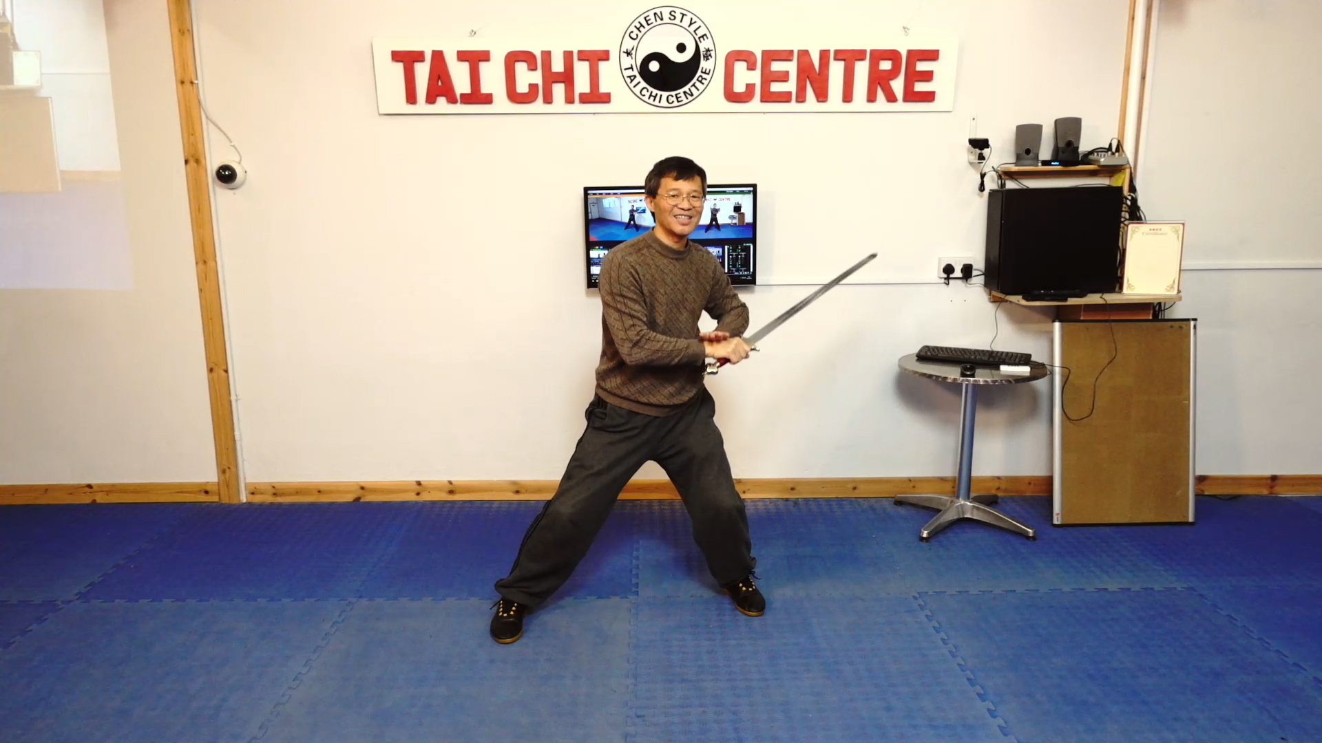 Sword Tips 2019;Sword Tips 2020;Laojia Demonstration; Double Fan; Cannon Fist First Part; Dantian Rotation;Energy Realising with spear;Sabre_Tips_for_practice;
