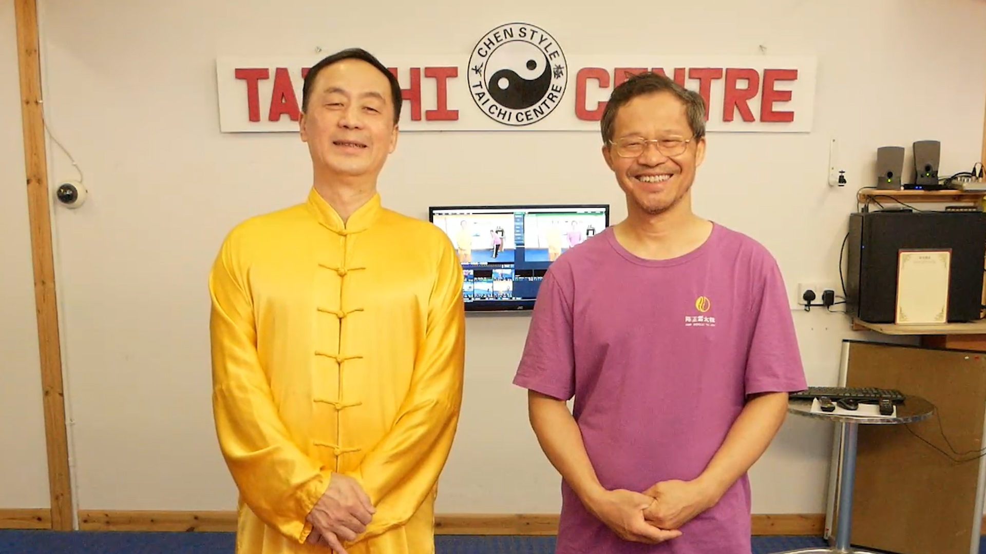 Welcome to the Centre; Introduce to Children Ba Duan Jin; Warm up demonstration; Introduction;Instruction Part 1;Instruction Part 2;Instruction Part 3;